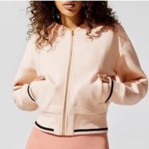 Anthropologie Varley Cole Bomber Jacket Sz Small